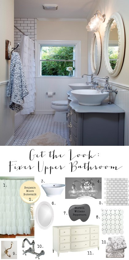 Get the Look Fixer Upper Bathroom Take 2 (5)