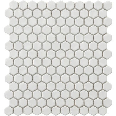 Retro-.875-x-.875-Porcelain-Glazed-Mosaic-in-White-WFFXLMHW
