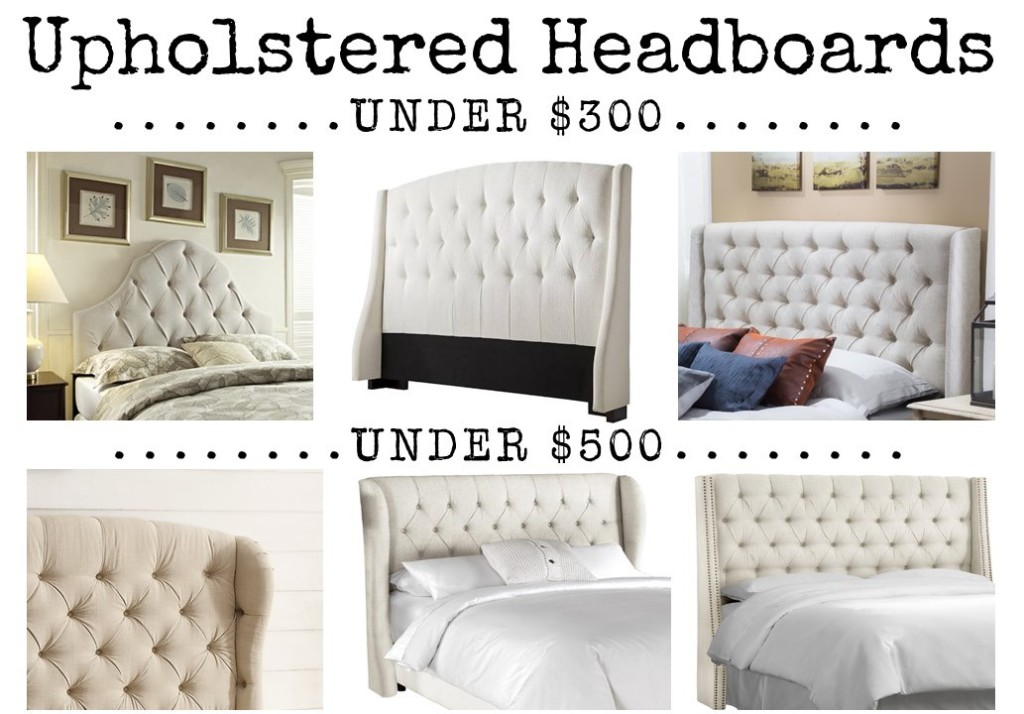 Friday Finds: Upholstered Headboards