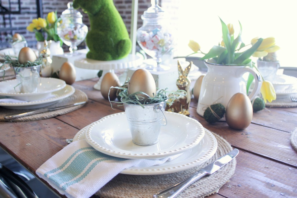 Easter Tablescape {sponsored by AtHome}