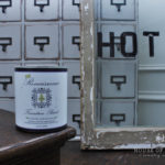 Card Catalog Makeover-new chalk paint