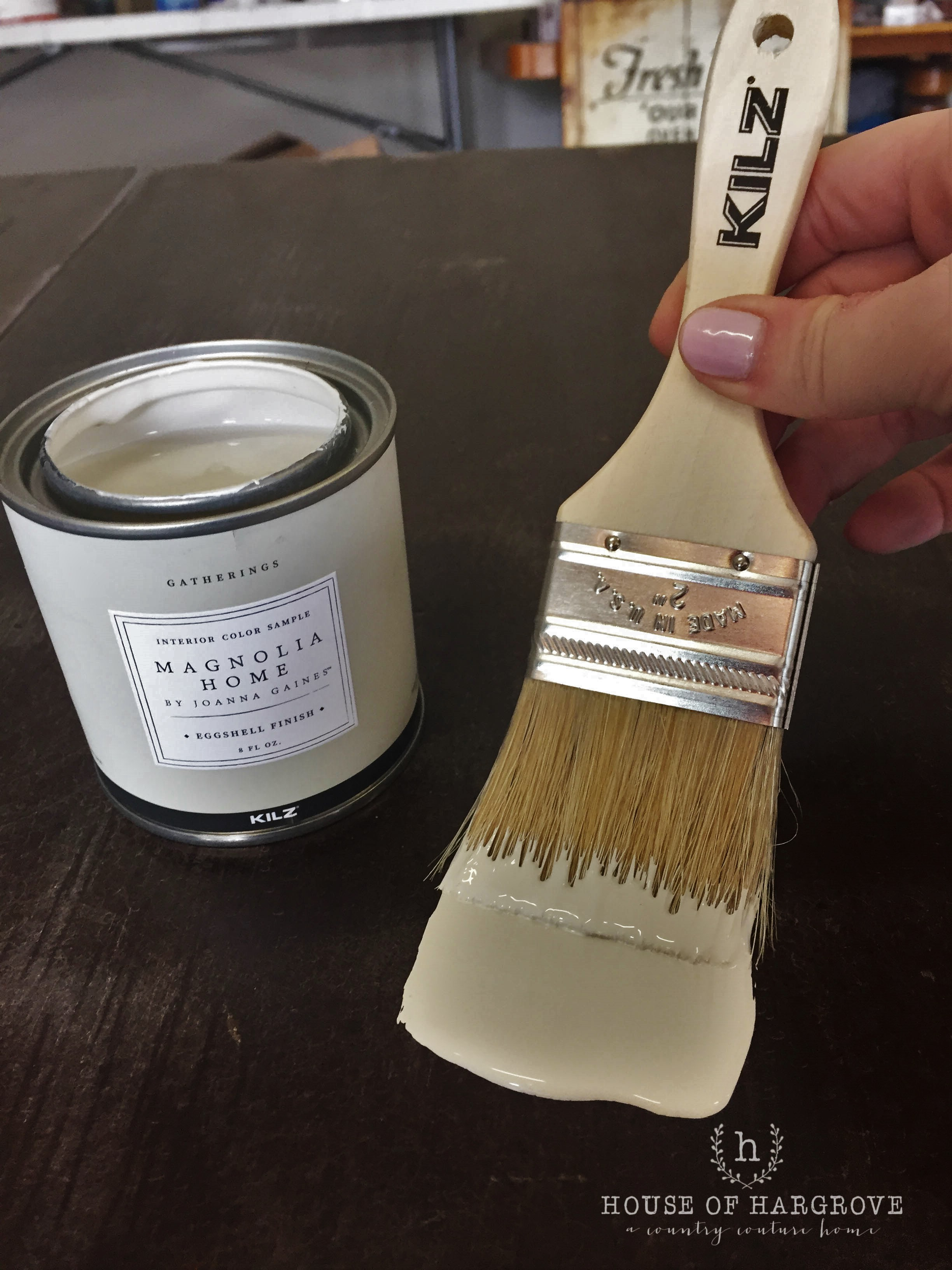 Magnolia paint yarn
