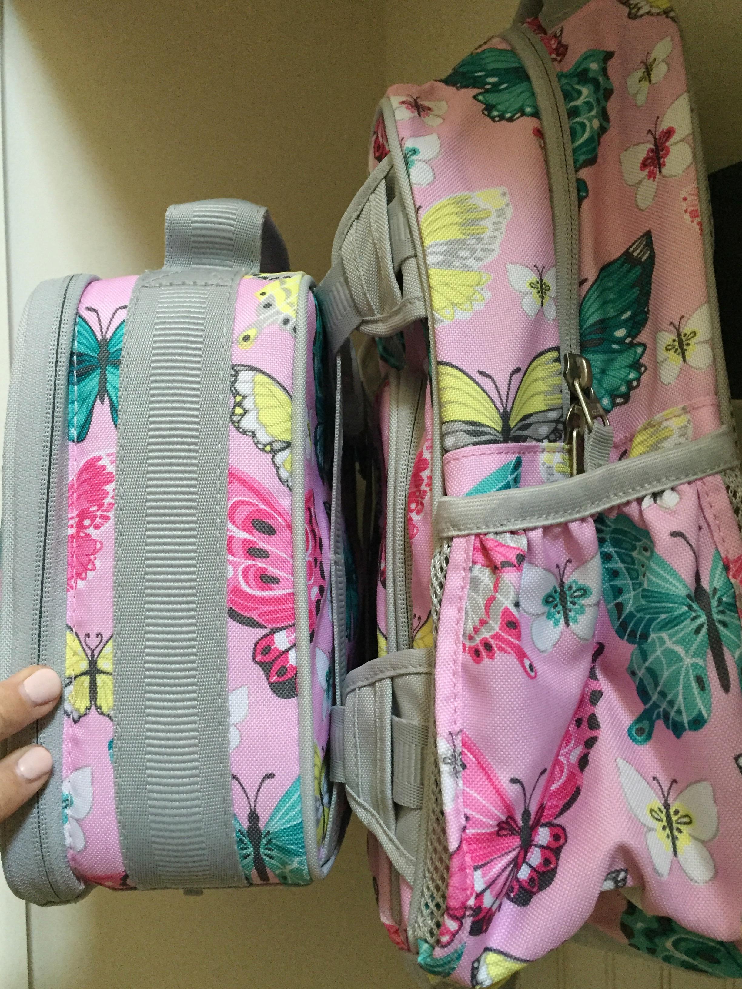 eacf2e5fe483 Mackenzie Pink Glitter Backpack- Fenix Toulouse Handball