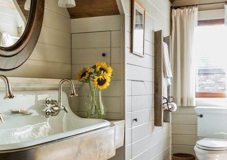 Farmhouse bathrooms house of hargrove for Bathroom ideas instagram