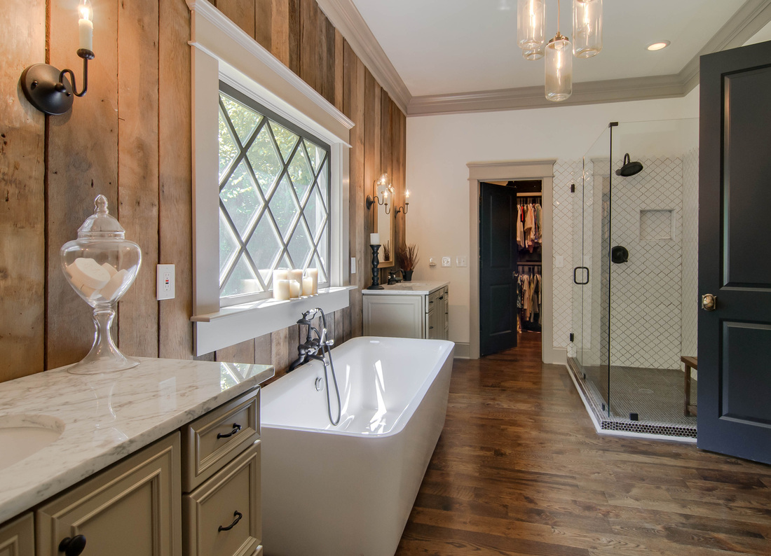 Country bathroom design - Farmhouse Bathrooms House Of Hargrove