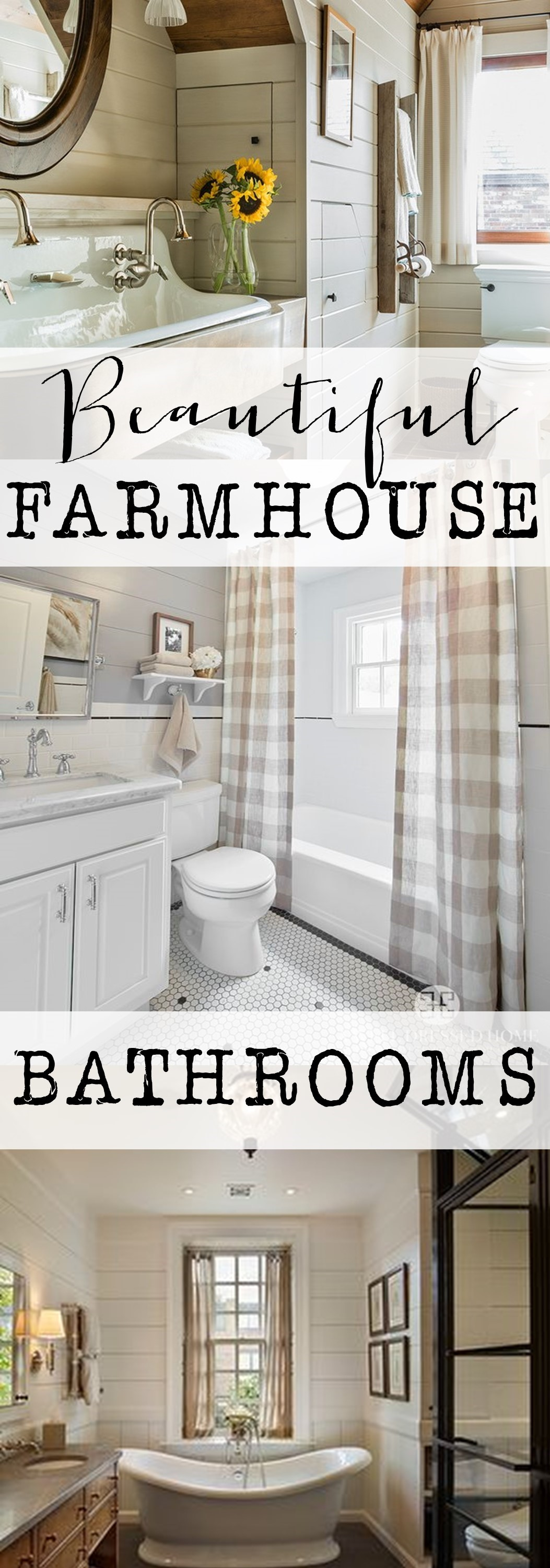 Top Farmhouse Bathrooms - House of Hargrove CO02