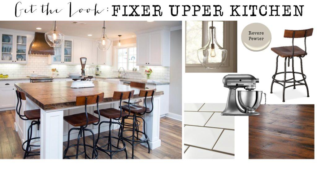 Get the Look: Fixer Upper Kitchen