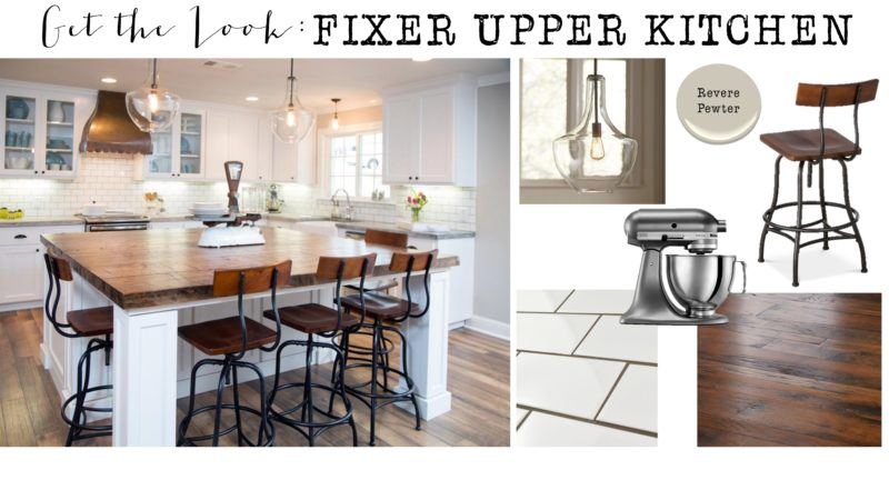 get the look fixer upper kitchen house of hargrove. Black Bedroom Furniture Sets. Home Design Ideas