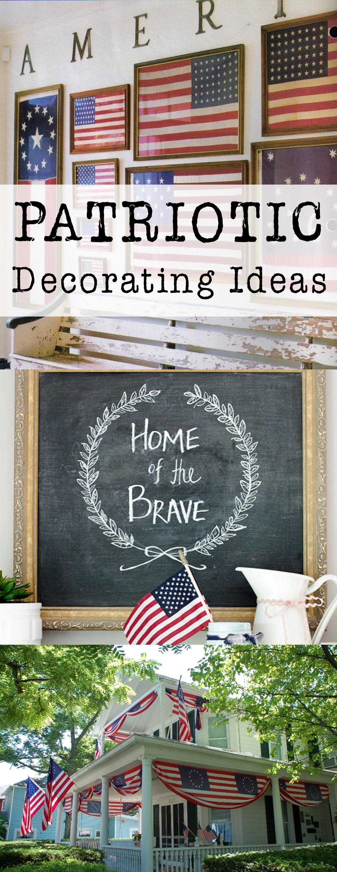 Patriotic home decor 28 images 100 patriotic home for Patriotic decorations for home
