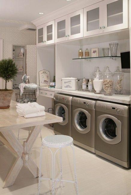 Cute Storage Laundry Room