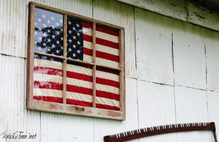 Americana Home Decor  Displaying Patriotism