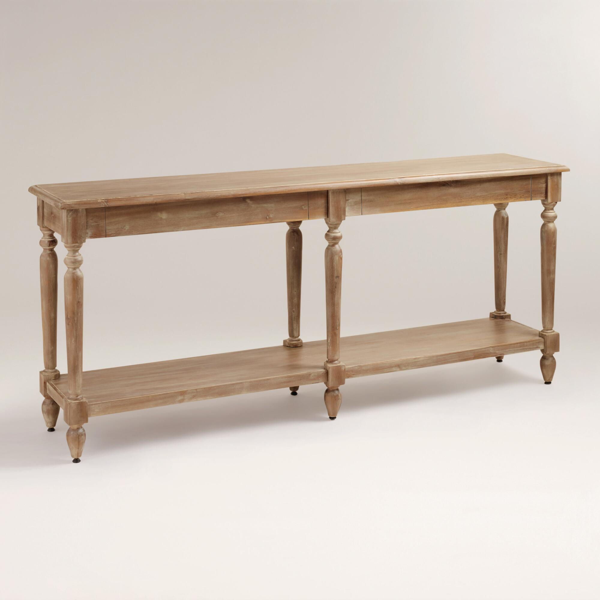 Aiden 3 Shelf Console Table ONLY $195.99