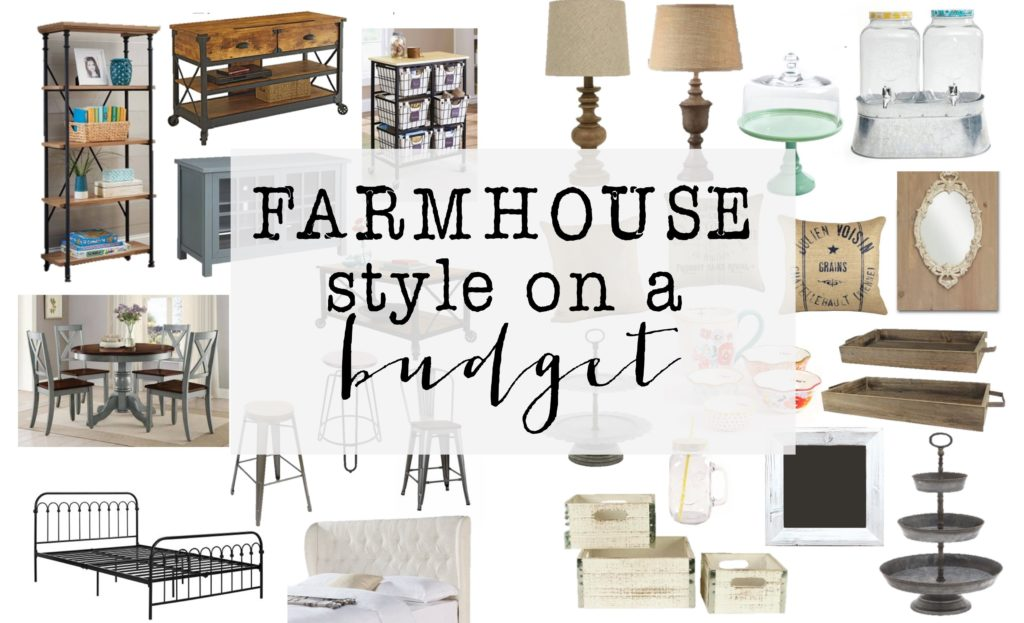 Farmhouse Style on a budget