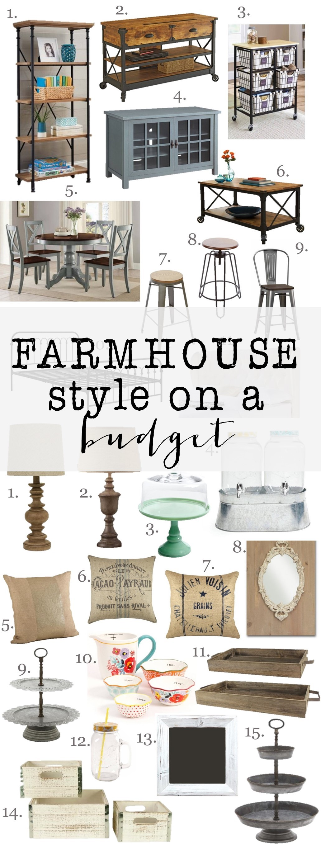Farmhouse style on a budget house of hargrove for What style house do i have