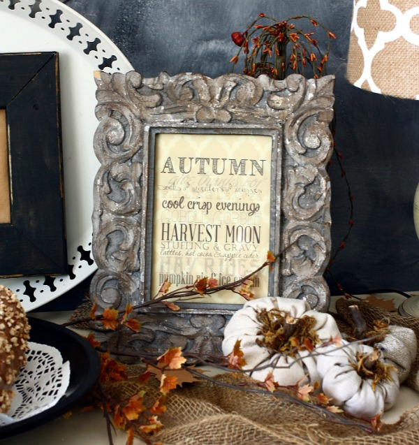 AKA Design Autumn Chalkboard, Fall Printables