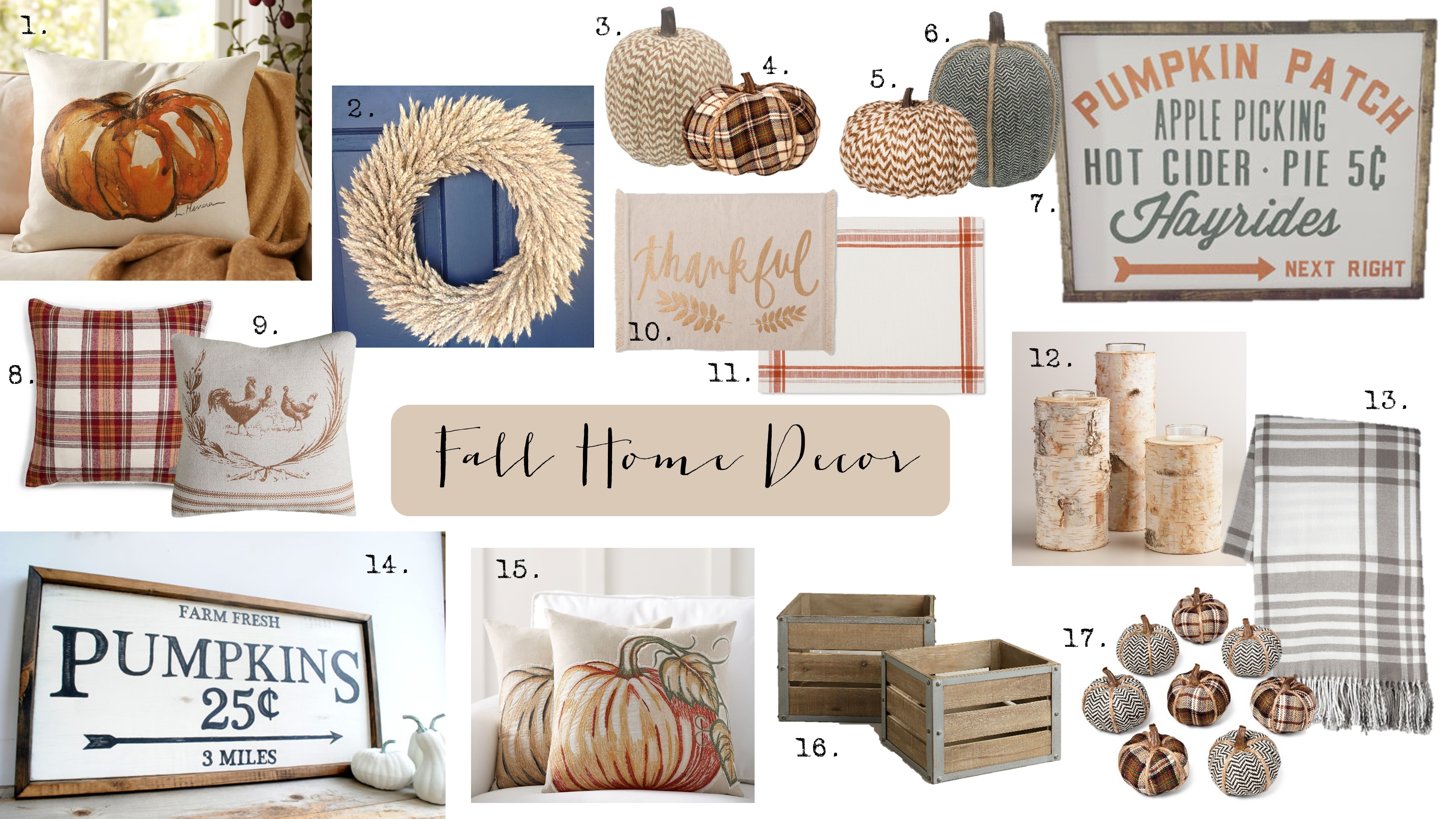 Fall Home Decor - House of Hargrove