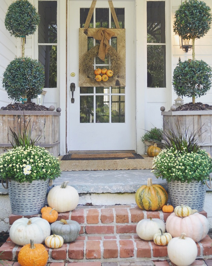 Fall Front Porch: Fall Front Porches
