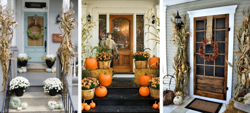 Roof Design Ideas: Fall Front Porches