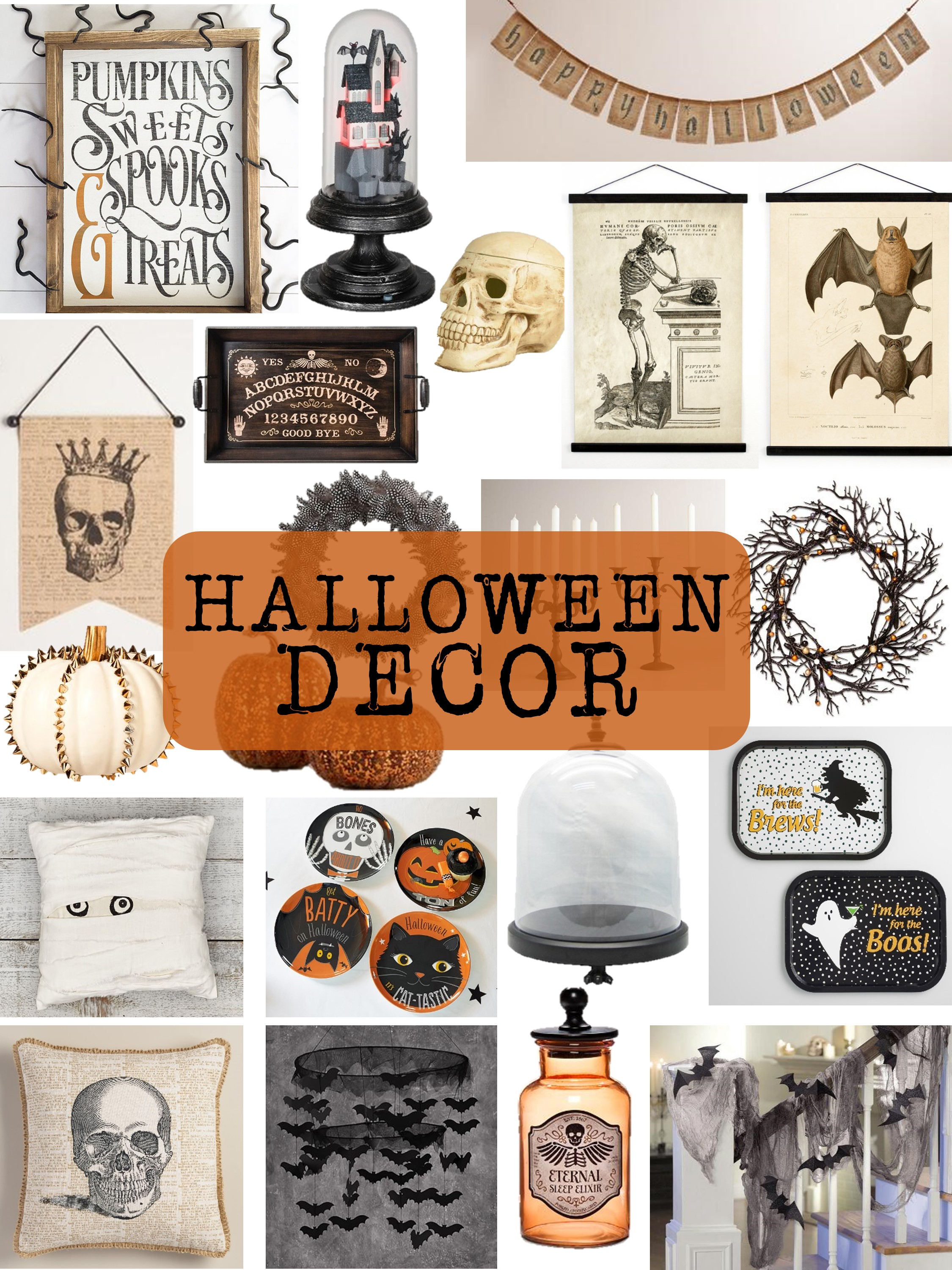100 halloween home decorations halloween home decor for Halloween home decorations