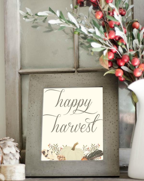 Nina Hendrick Happy Harvest, Fall Printables