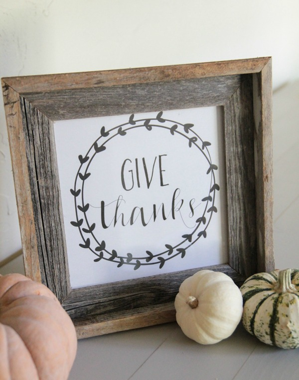 Shanty 2 Chic Give Thanks, Fall Printables