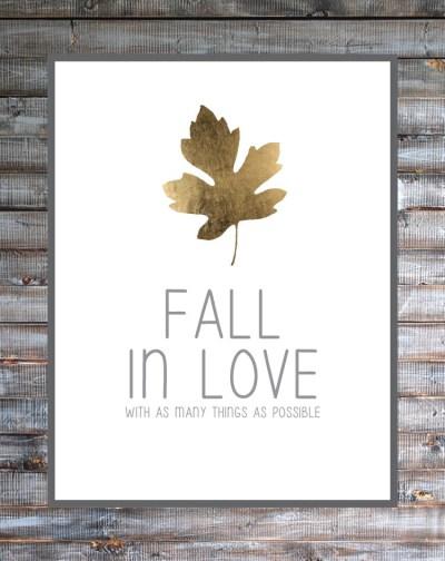 bre Purposed Fall in Love, Fall Printables