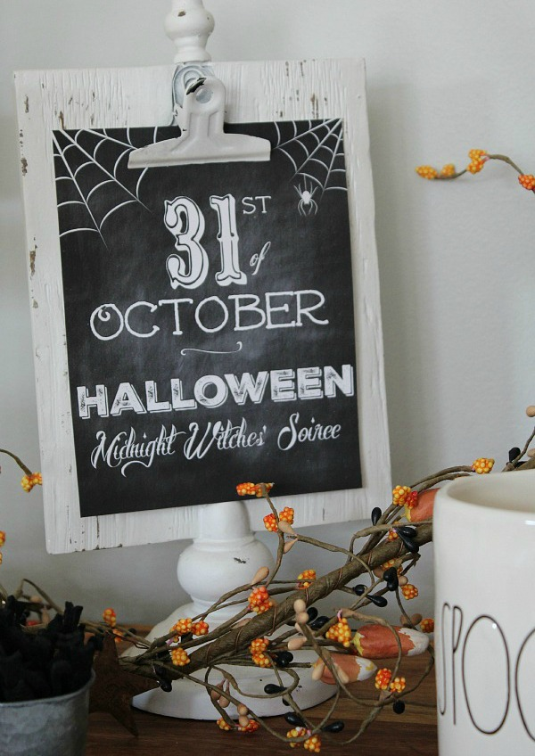 Clean and Centsible, Halloween Printable via House of Hargrove