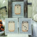 Mason Jar Halloween Printables