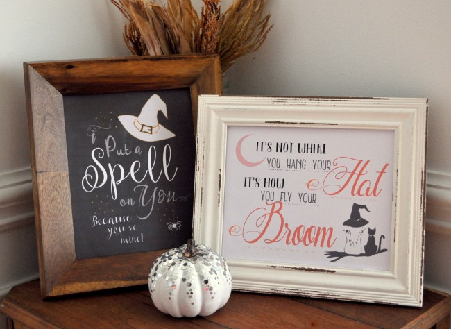 Made in a Day, Halloween Printables