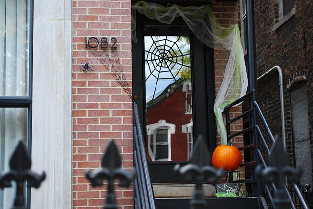 Merriment Design, Halloween Front Porch Ideas via House of Hargrove