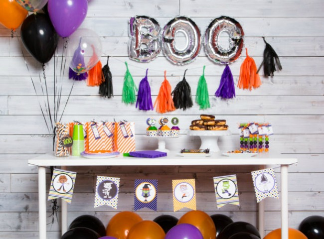 Monster Mash Party by Party in a Pinch, Halloween Tablescapes and Party Ideas