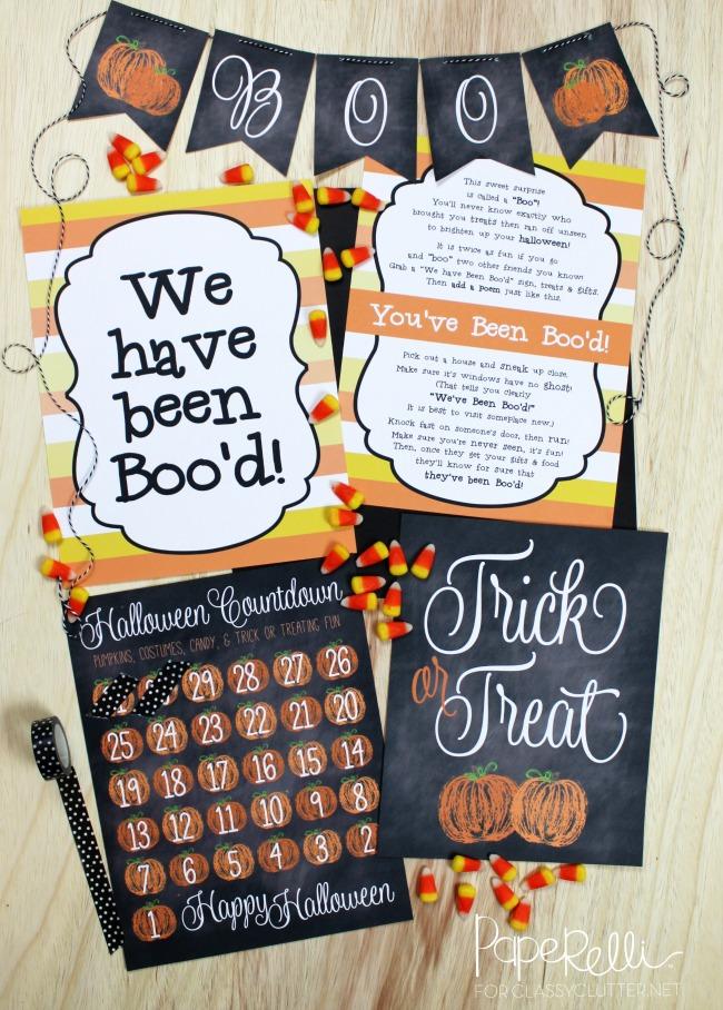 Paperelli, Halloween Printables