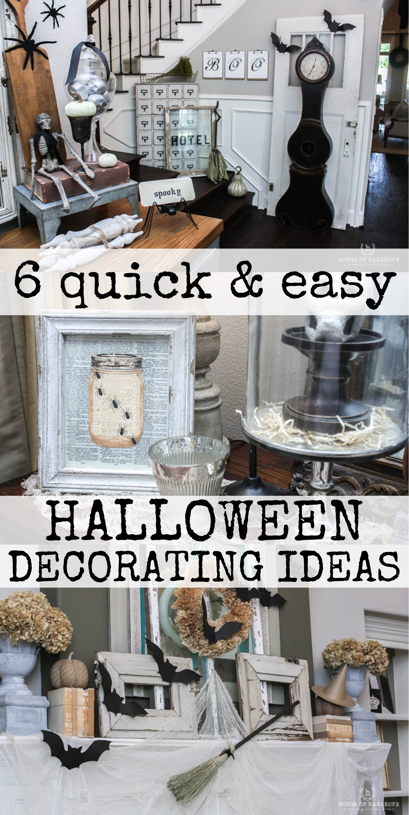 6 Quick And Easy Halloween Decorating Tips House Of