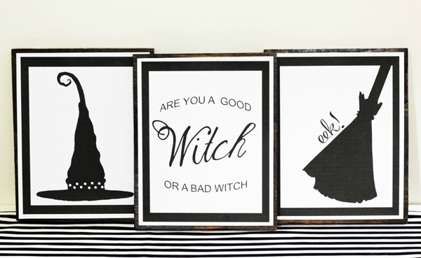 The Diary of Dave's Wife, Halloween Printables