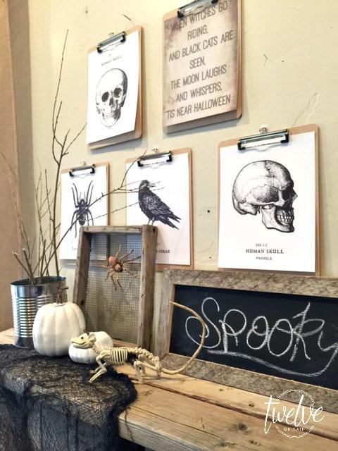 Twelve on Main, Halloween Decor Ideas