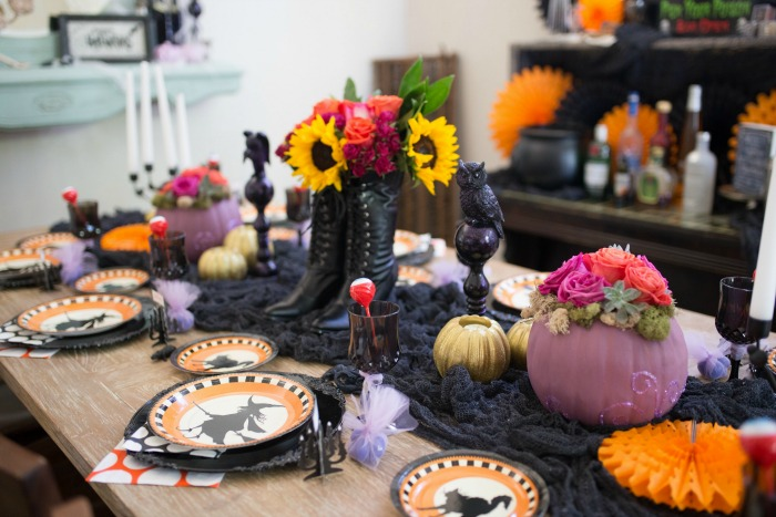 Witches Brew Girls' Night, Halloween Tablescapes and Party Ideas