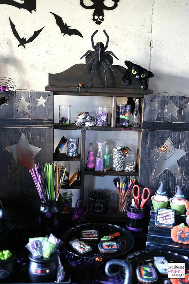 WitchCraft Halloween Party by Soiree Event Design, Halloween Tablescapes and Party Ideas