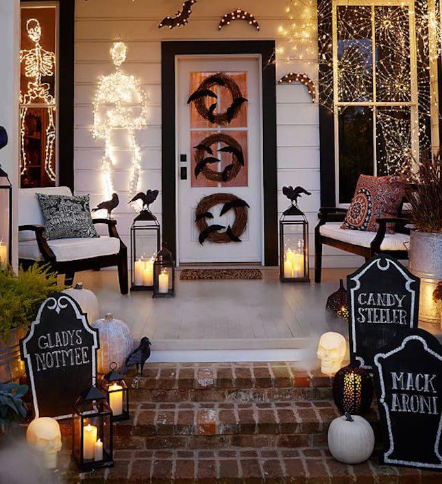Halloween Porch Ideas House Of Hargrove