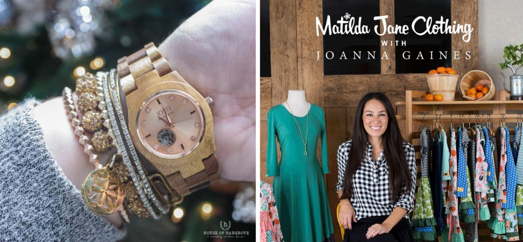 Friday favorites-Jord Wood Watch & Joanna Gaines for Matilda Jane