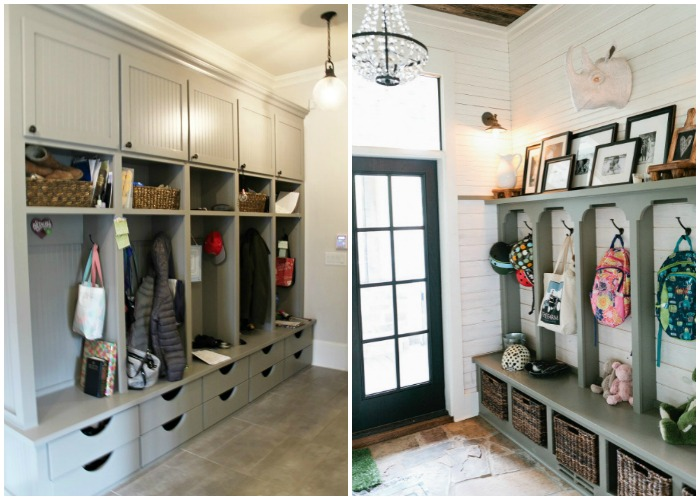 Mudroom Laundry Room Ideas Garage Entry Hooks