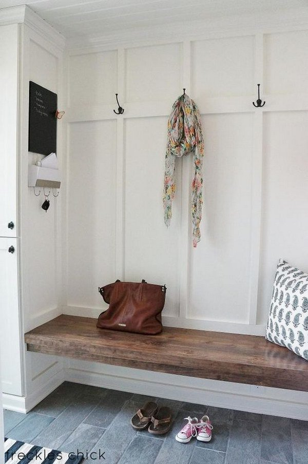 Freckles at home, Farmhouse Mudrooms via House of Hargrove