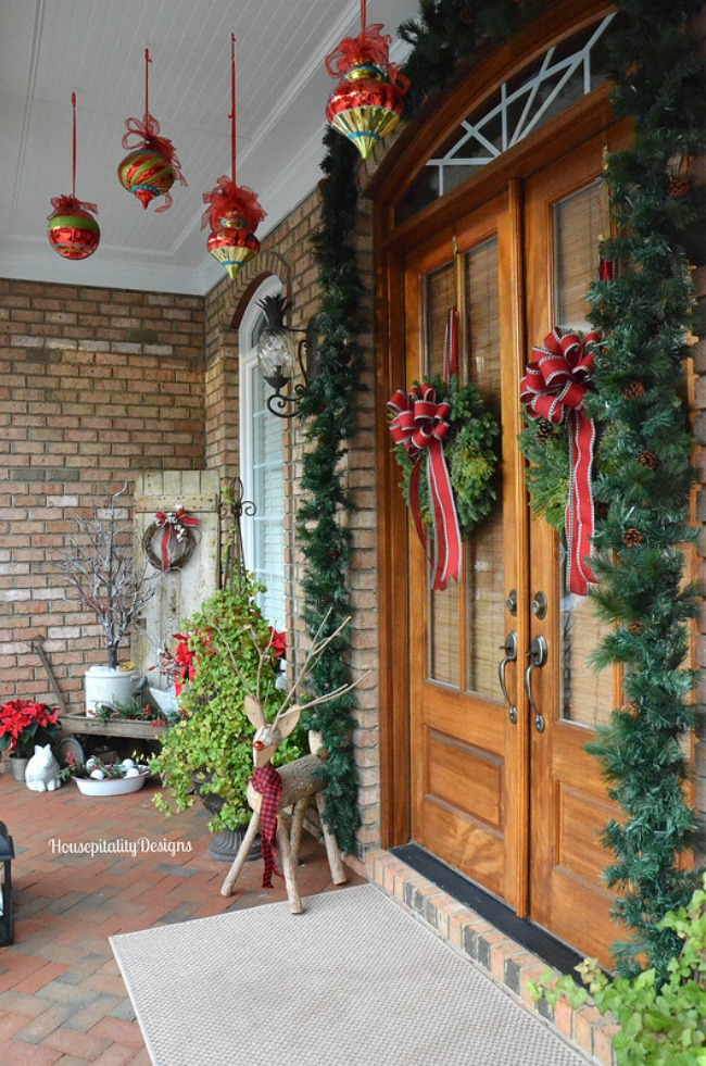 Hospitality Designs, Christmas Porches via House of Hargrove