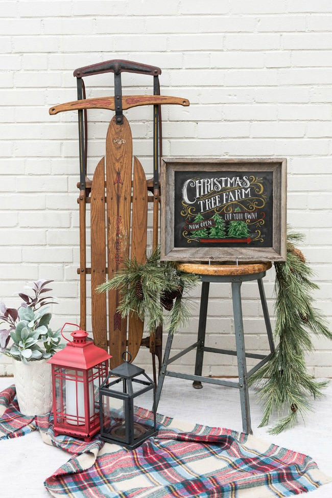 Lily & Val, Christmas Porches via House of Hargrove