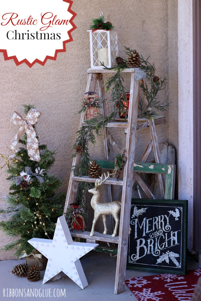 Ribbons and Glue, Christmas Porches via House of Hargrove