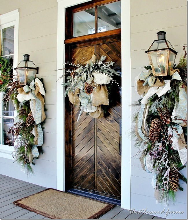Southern Living Idea Home, Christmas Porches via House of Hargrove