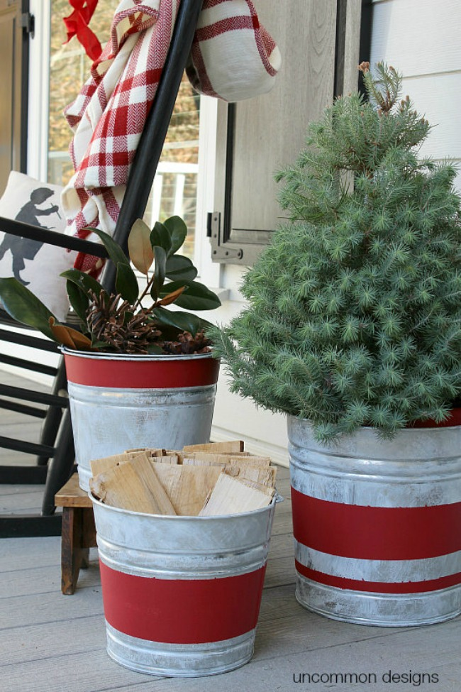 Uncommon Designs, Christmas Porches via House of Hargrove