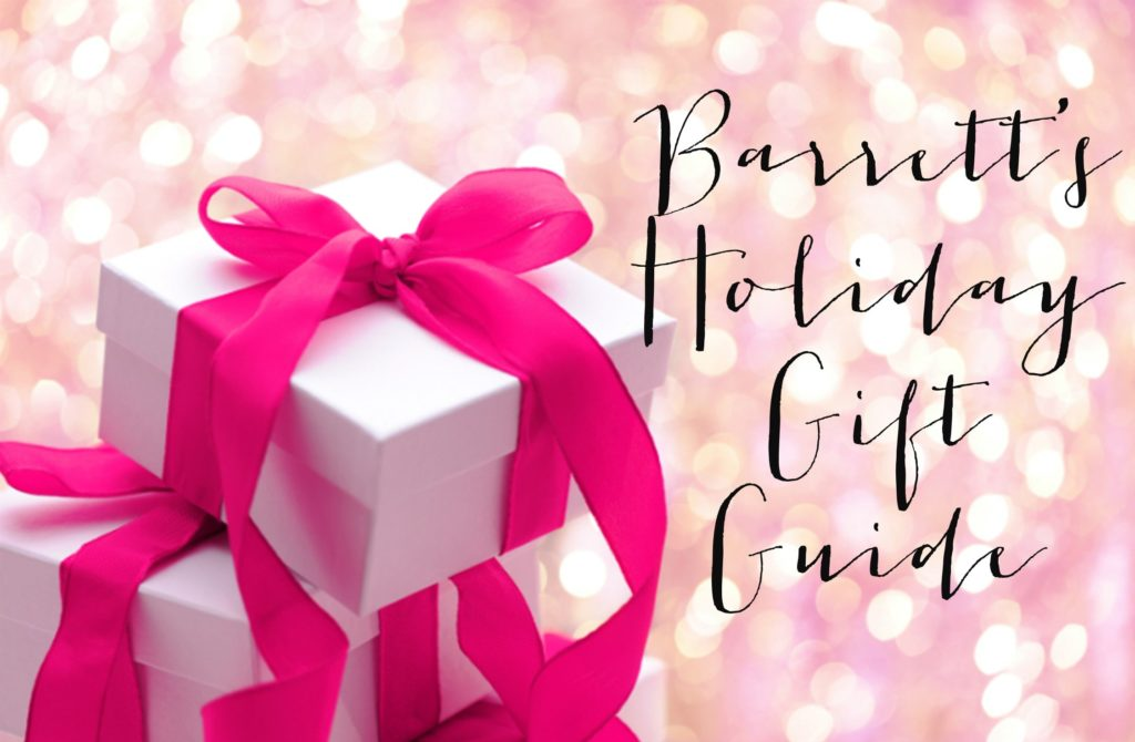 Wear it with Barrett: Holiday Gift RoundUp