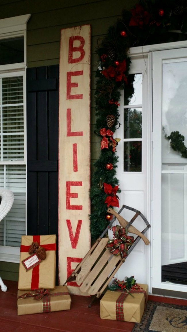 via Indulgy, Christmas Porches via House of Hargrove