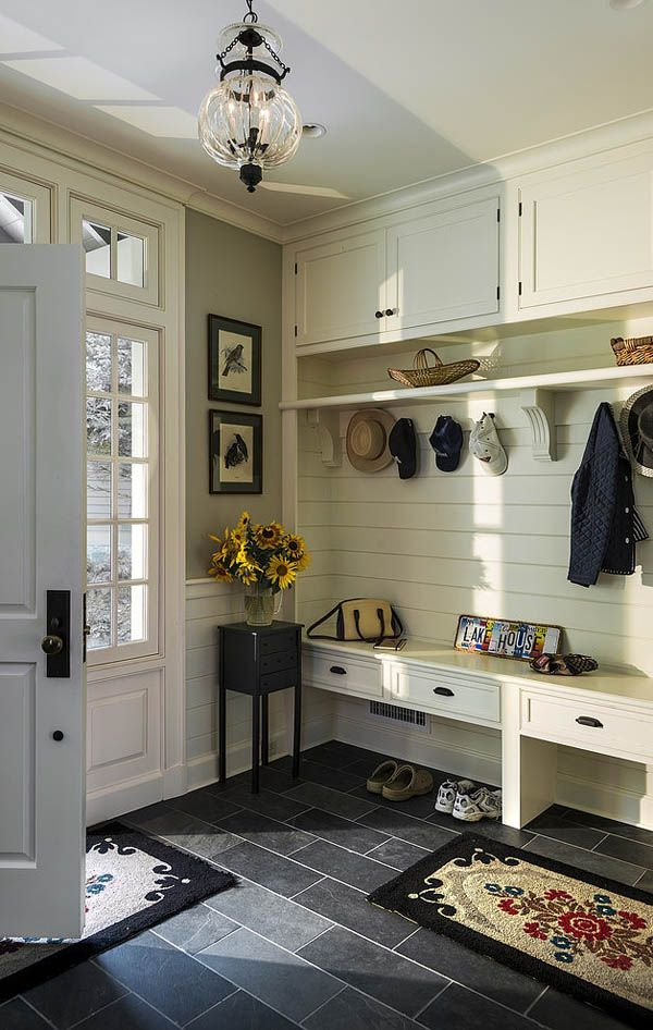 via Tumblr, Farmhouse Mudrooms via House of Hargrove