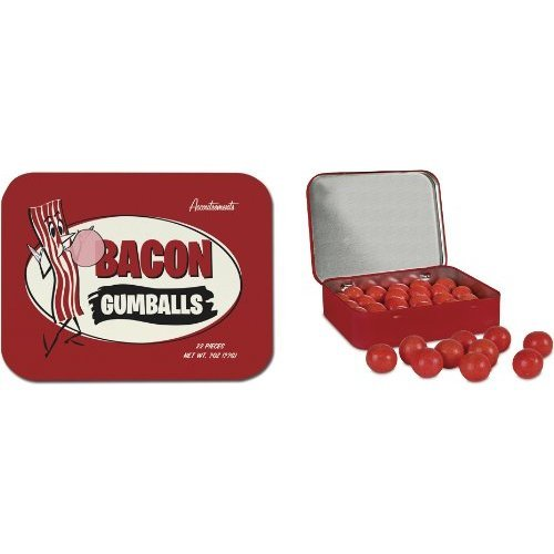 Bacon Gumballs, White Elephant Gift Ideas via House of Hargrove